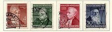 West Germany - 1952 Welfare Semi-Postal set of 4. Scott #B327-B330 USED