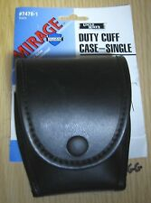 UNCLE MIKE'S MIRAGE DUTY SINGLE TOP FLAP HAND CUFF CASE 7478-1 NEW