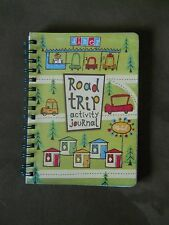 ROAD TRIP ACTIVITY JOURNAL BOOK 128 PAGES GAMES & DIARIES MUDPUPPY PRESS 2008