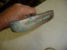 """RH Wilson GM 880B Putter Brass Blade 35"""" Steel Shaft Nice Vintage Club"""