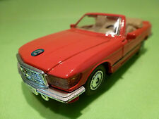 MC TOY MERCEDES BENZ 500 SL - RED 1:39 - VERY GOOD CONDITION - PULL-BACK SYSTEM