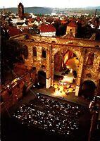 Bad Hersfeld , Festspiele in der Stiftsruine , Ansichtskarte, gelaufen