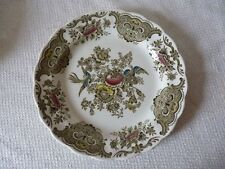 ASSIETTE POLYCHROME PORCELAINE ANGLAISE RIDGWAY STAFFORDSHIRE  WINDSOR