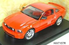 2005 FORD MUSTANG GT COUPE RED by  HOT WHEELS 1:18 BRAND NEW IN BOX