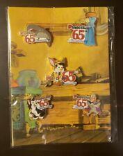 Disney Pinocchio 65Th Anniversary Pin Set - Set Of 5 - Original Packaging