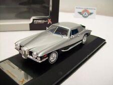 À queue Blackhawk Convertible Coupe, Silver, 1971, PremiumX 1:43, NEUF dans sa boîte