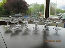 10 Princess House Crystal Heritage Lead Crystal Champagne/Sherbet Dishes