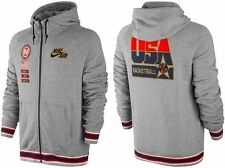 NWT RARE NIKE FULL ZIP USA OLYMPIC BASKETBALL DREAM TEAM STITCHED HOODIE 2XL