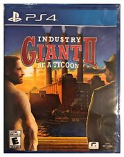 Industry Giant 2 II Be A Tycoon Ps4 Factory Brand New