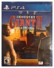 Industry Giant 2 II Be A Tycoon Ps4 Playstation 4 Brand New