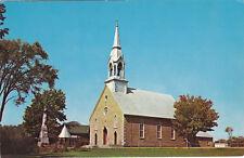 Église ST-PLACIDE Comté Deux-Montagnes Quebec Canada Studio Beauchamp Postcard