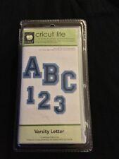 Cricut Cartridge VARSITY LETTER ***Brand-New***Free Shipping***