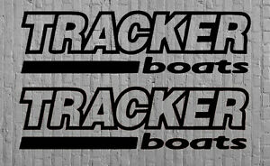 Tracker Boats Decal Stickers Outline Set Fishing Line Bass Rapala Baitcaster