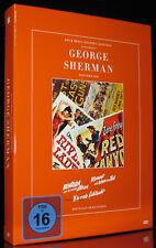 DVD GEORGE SHERMAN WESTERN BOX - 3 KLASSIKER - DIE ROTE SCHLUCHT (Legenden) *NEU