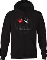 Hoodie Men Corvette Sting Ray Classic Logo