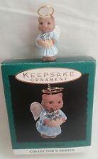 Hallmark Christmas Miniature Nature's Angel w/Halo Series #4 Kitty Cat 1993 MIB