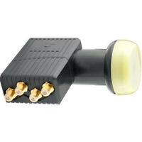 Technomate TM-4 GOLD Super High Gain Full HD & 3D 0.1DB Universal Quad LNB