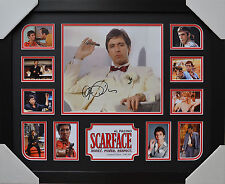 AL PACINO SCARFACE SIGNED MEMORABILIA FRAMED LIMITED EDITION