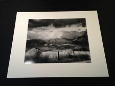 Bruce Barnbaum silver gelatin photograph Basin Mountain, Approaching Storm 16x20