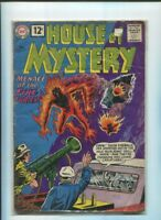 House of MYSTERY #117 - Menace of the FIRE Furies -1961