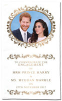 HRH Prince Harry & Ms Meghan Markle - Engagement  Tea Towel