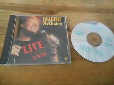 CD Country Delbert McClinton - Live From Austin (11 Song) ALLIGATOR REC jc