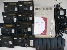 LG-Nortel ARIA 24ip(A) VMail w 8 x LCD h/sets & 12 months w/ty. Tax invoice