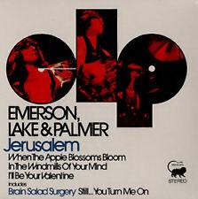 "Emerson Lake & Palmer, Jerusalem, NEW/MINT Limited ed 7"" vinyl single RSD 2013"