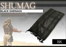 BLACK MILITARY SHEMAGH SCARF BRITISH ARMY SAS PARA PASHMINA KEFFIYEH HIKE FISH