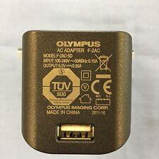 Olympus F-2AC UK USB Power Adapter Charger 4 Olympus TG-310 STYLUS
