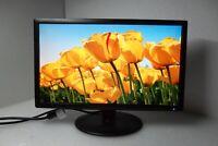 """NEC V221W 22"""" Widescreen LCD Monitor VGA 1920 x 1080 Tilt 800:1 5ms OSD V221W-BK"""