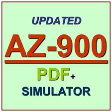 Latest AZ-900 Verified Practice Test Exam QA SIM PDF+Simulator