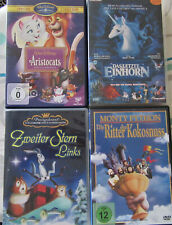 4 Kinder DVD's Einhorn Disney FSK 0 Filme