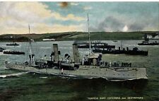 """Torpedo Boat Catchers & Destroyers""Millar & Lang Postcard"