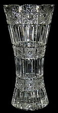 LAUSITZER GLAS - Vase BLUMENVASE Bleikristall Glasvase Trichtervase - 26,5cm