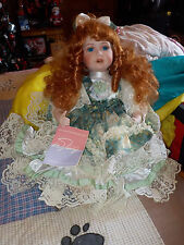 beautiful porcelain doll numbered #889/1500 from william tung