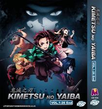 ANIME DVD Kimetsu No Yaiba Vol.1-26 End English Subtitle Region All + FREE SHIP