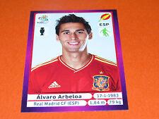 292 ALVARO ARBELOA REAL MADRID ESPAGNE ESPAÑA  FOOTBALL PANINI UEFA EURO 2012