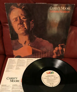CHRISTY MOORE Unfinished Revolution VINYL LP Europe 1987 WEA WX 104 VG/VG+ to EX