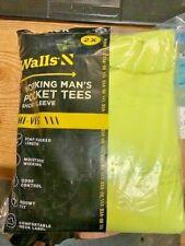 WALLS  WORK  YELLOW  POCKET  T-SHIRT 2- XL    NEW