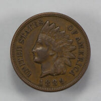1889 1c INDIAN HEAD SMALL CENT, HIGH-GRADE COIN LOT#N903