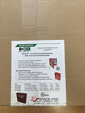SPACE AGE  SSU00660 IF2 32 POINT ACERBOX FIRE ALARM TERMINAL CABINET *NEW