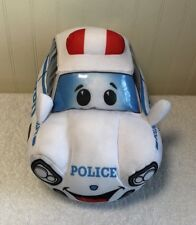 "Police Squad Patrol Car Plush NYPD Stuffed 10"" Toy"