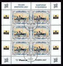 Österreich 2007 gestempelt Kleinbogen  MiNr. 2669  Tag der Briefmarke.
