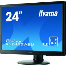 iiyama 24.1 ProLite Xb2485wsu-b3 Widescreen LCD Monitor Resolution 1920 X 1200