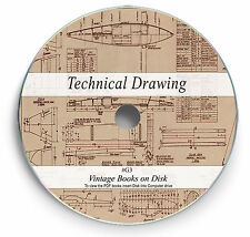 Rare Drawing Books on DVD - Engineering Drafting Design Mechanical Machine G3