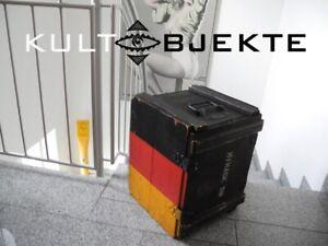HOLZKISTE ✨ MIRAGE 5B Packkiste ✨ 1970er Jahre KULTOBJEKT 48x38x40cm DEUTSCHLAND