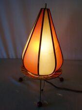 Alte Nachttischlampe, DDR Lampe Kult Retro Design, 50er Jahre Tütenlampe