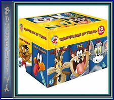 LOONEY TUNES BIG FACES BOXSET **BRAND NEW & 10 DVD BOXSET**