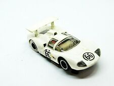 Tyco Pro CHAPARRAL 2D White #66 W/Wing HO slot car Running Nice
